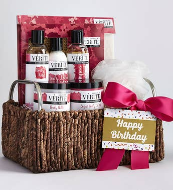 Have a Fabulous Birthday Cherry Blossom Spa Basket