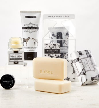 Beekman Milk Carton Spa Set