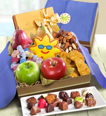Summer Fun Fresh Fruit  Snacks Gift Box