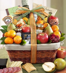Sierra Sensation Fruit  Gourmet Gift Basket