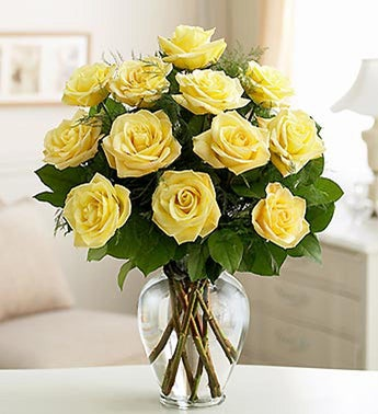 Rose Elegance Premium Yellow Roses