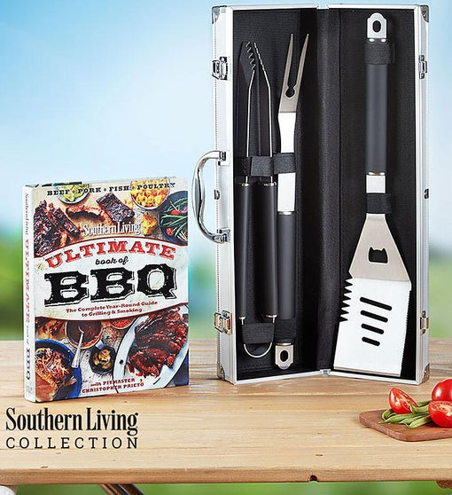 Southern Living® Personalized Grilling Set