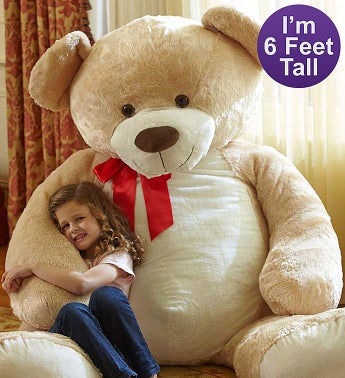 Lotsa Love Beary Big Bear For Kids