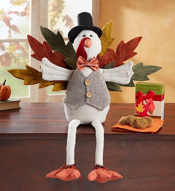 Festive Turkey and Cookies