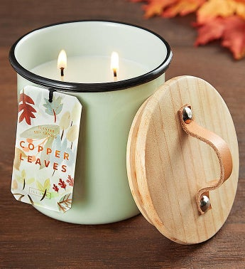 Illume® Copper Leaves Candle