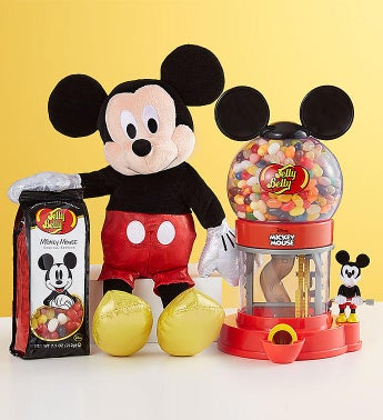 TY Sparkle Mickey and Jelly Belly Bean Machine Gift Set