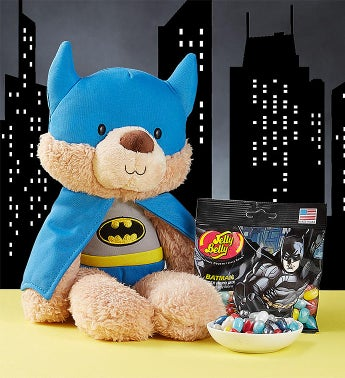 Gund Batman Plush and Jelly Belly Jelly Beans