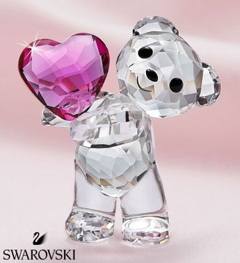 Swarovski Take My Heart Bear