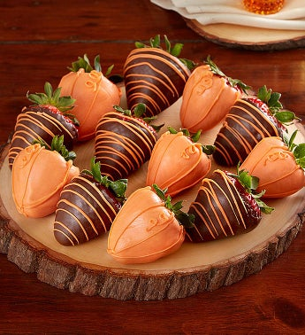 Pumpkin Patch Dipped Strawberries