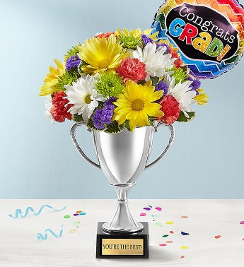 Trophy Bouquet Graduation