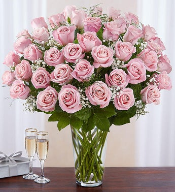 Ultimate Elegance Long Stem Pink Roses