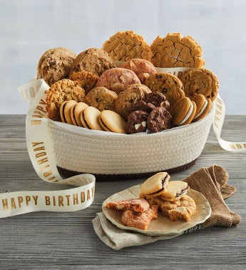 Birthday Cookie Gift Basket