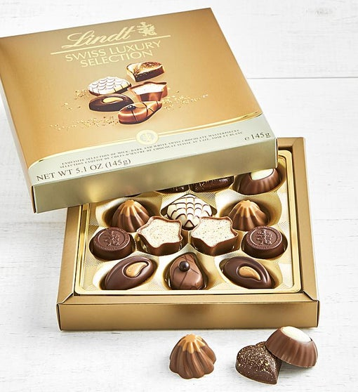Lindt 14pc Swiss Luxury Collection Chocolates