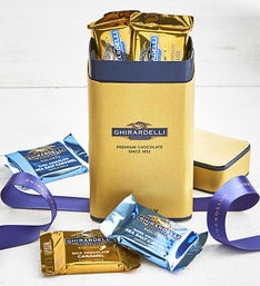 Ghirardelli Signature Chocolate Squares Box 15pc