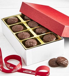 Long Grove Dark Chocolate Peppermint Creams