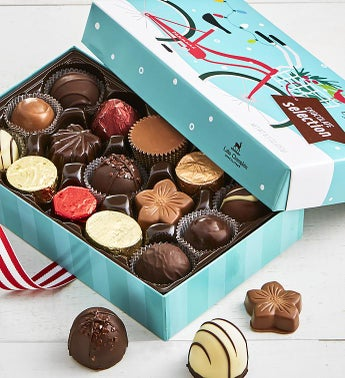 Lake Champlain Holiday Chocolates Box 15 pc