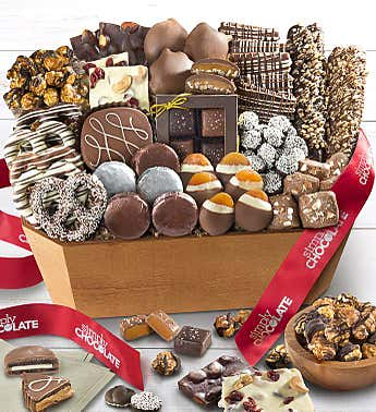 Simply Chocolate Jubilation Gift Basket