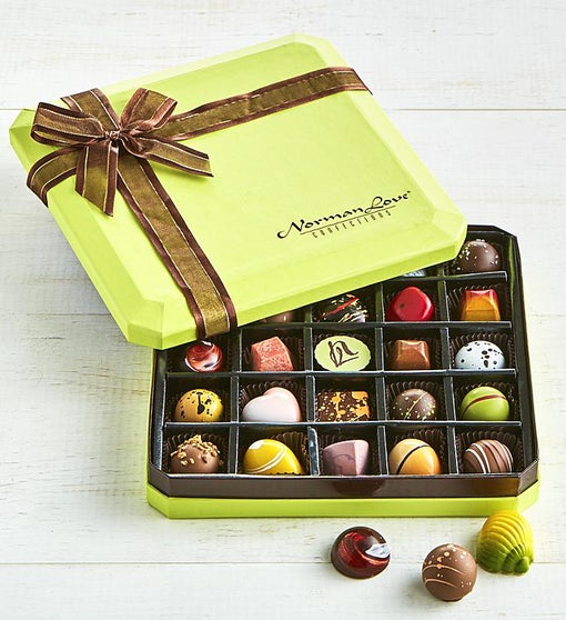 Norman Love Signature Chocolates Box 25 pc