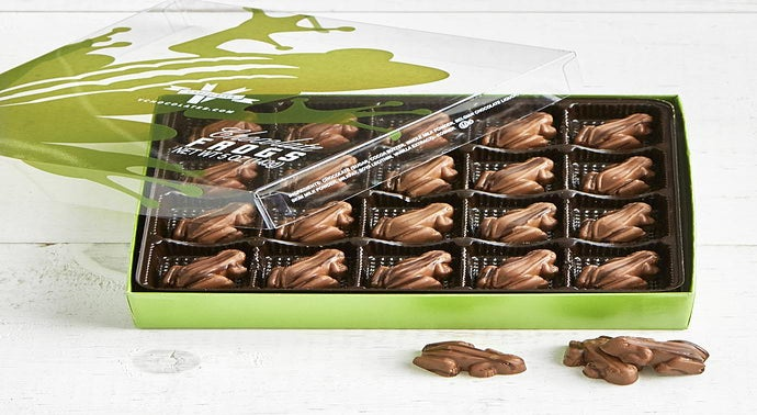 V Chocolate Milk  Dark Chocolate Frogs 40pc Box