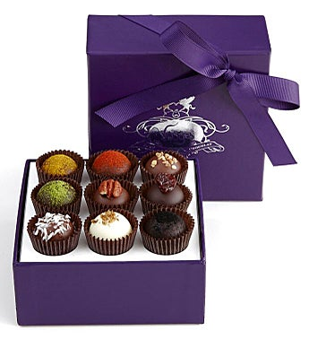 Vosges Exotic Truffle Collection 9 Pc Box