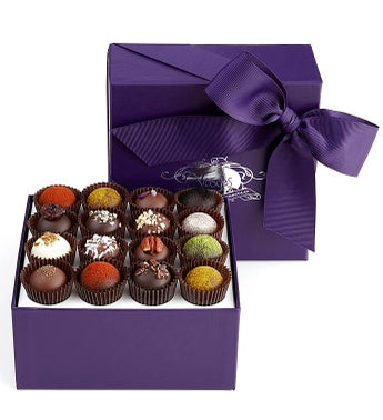 Vosges Exotic Truffle Collection 16 Pc Box