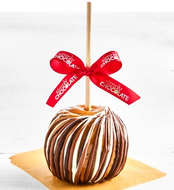 Simply Chocolate Triple Chocolate Caramel Apple