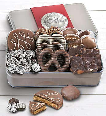Simply Chocolate Classic Confections Tin