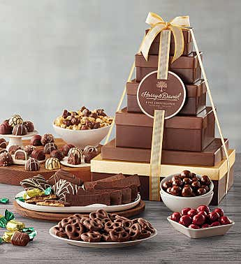 Harry and David® Tower of Chocolates Gift - Deluxe