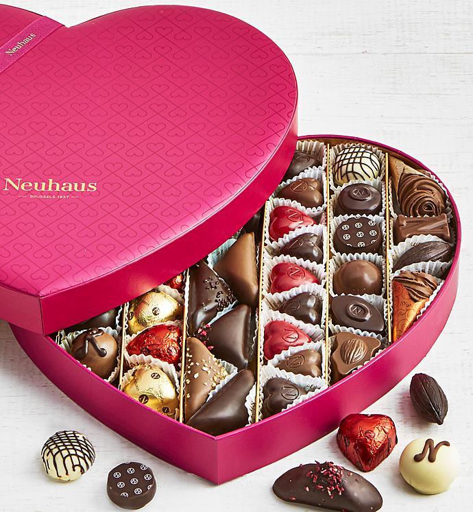 Premier 43pc Belgian Chocolate Heart Box