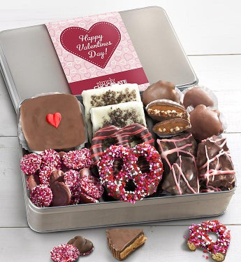 Simply Chocolate Valentine Confections Tin