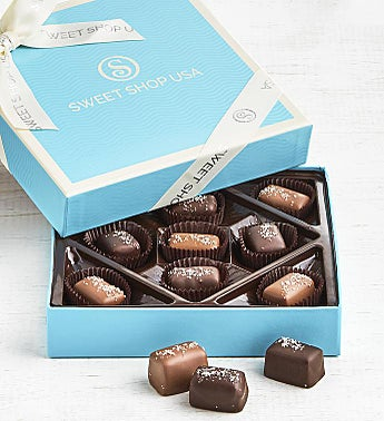 The Sweet Shop Sea Salt Caramels Box