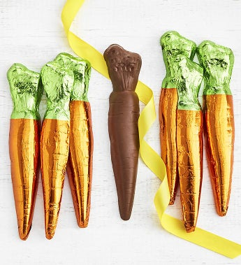Art CoCo Foil Wrapped Chocolate Carrots