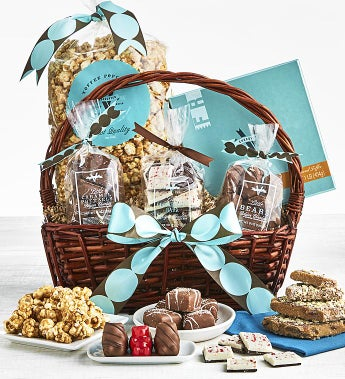 V Chocolate Exceptional Gift Basket