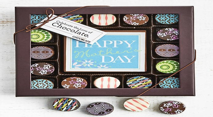 Simply Chocolate Moms Best Bar  Truffles 17pc