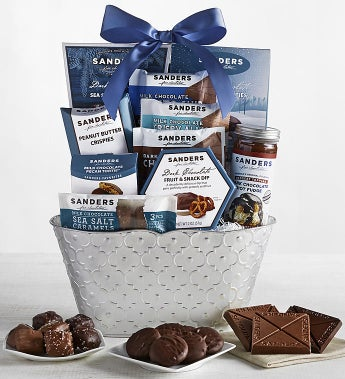 Sanders Chocolate and Sweets Gift Basket