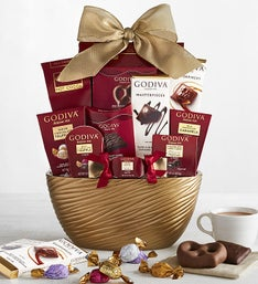 Godiva Chocolates Assortment Bowl Gift