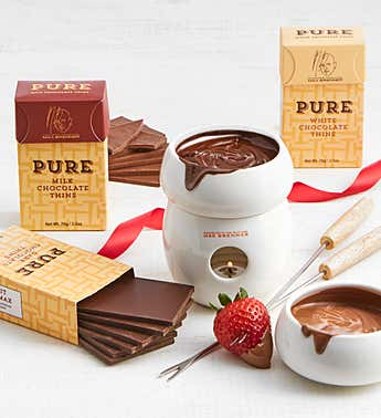 Max Brenner Fondue Tower Set with Chocolates