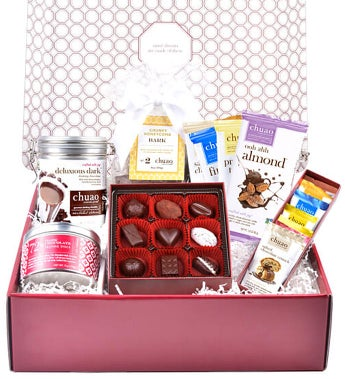 Chuao Chocolatier Decadent Dark Chocolate Gift Box