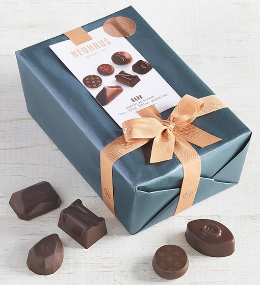 Neuhaus All Dark Belgian Chocolate Ballotin 17 pc