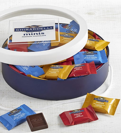 Ghirardelli Chocolate Minis 60 Piece Gift Box