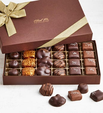 Ethel M Chocolates Nuts & Caramels 24pc