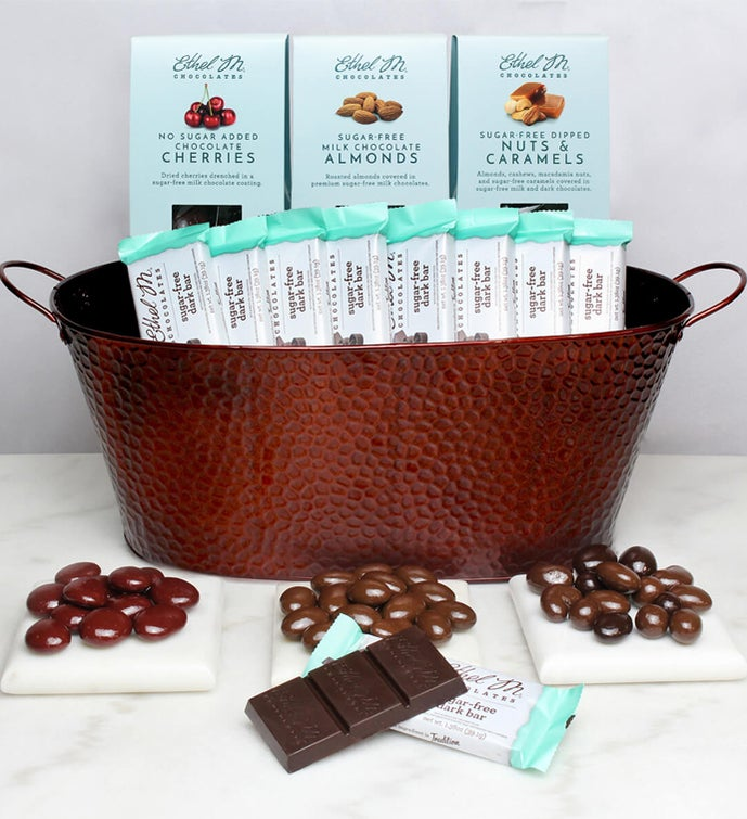 Ethel M Chocolates Sugar Free Gift Basket