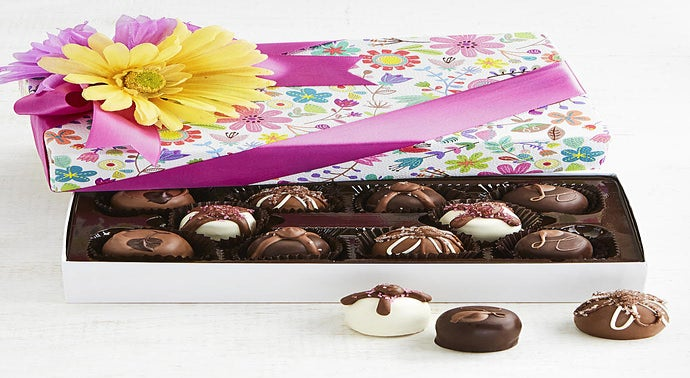 The Sweet Shop Spring Flowers Truffles Box 10pc