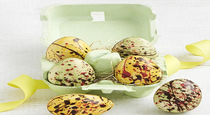 Knipschildt Artisan Chocolate Easter Egg Quartet