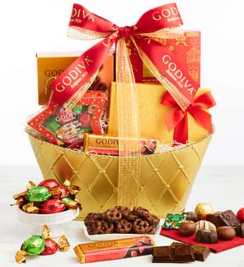 Exclusive 2020 Godiva Holiday Basket