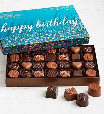 Simply Chocolate Birthday Premier Collection 28pc
