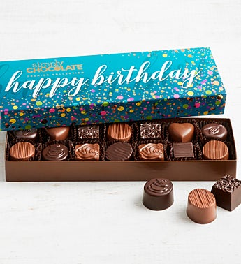 Simply Chocolate Birthday Premier Collection 14pc