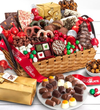 Simply Chocolate Supreme Celebrate Season Basket
