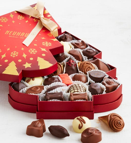 Neuhaus Holiday 2019 Belgian Chocolate Tree Box