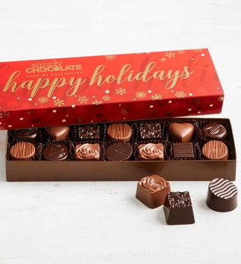Simply Chocolate Holiday Premier Collection 14pc